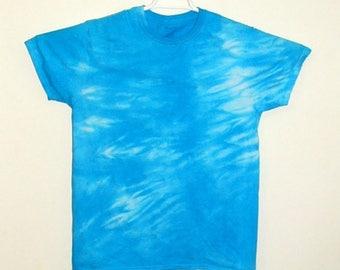 Tie Dye Shibori T Shirt Cotton