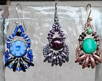 Tutorial - Kon Tiki Earrings