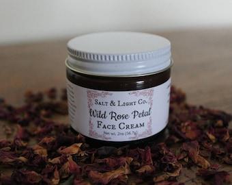 Wild Rose Petal Face Cream|Organic|Anti-Age
