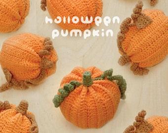 CROCHET PATTERN Halloween Pumpkins Amigurumi Crochet Pattern Halloween Pumpkin Plush Toy Pumpkin Pin Cushion Halloween Decoration Costume