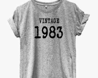 Vintage 1983 tshirts graphic tees pineapple tshirt graphic tee funny saying funny quote top Tumblr funny top tee funny T-shirt funny top