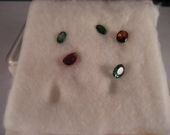 5 Tourmaline variety of color 2.10 Ct. Total Wt.