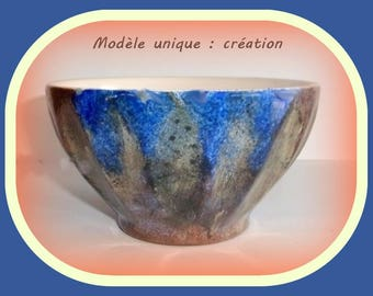 Hand painted pottery Bowl.