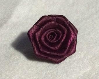 Sangria Flower lapel pin
