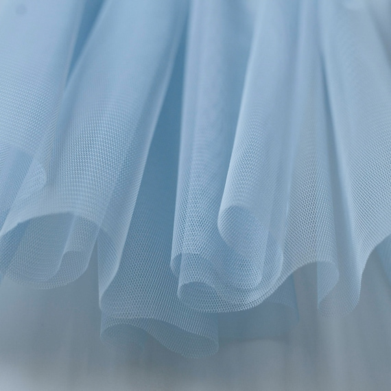 Light Pastel Blue Soft Tulle Veiling Fabric 150cm Wide    Sold By The Metre (M2) by Etsy