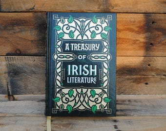 Book Safe - Treasury of Irish Literature - Leather Bound Hollow Book Safe