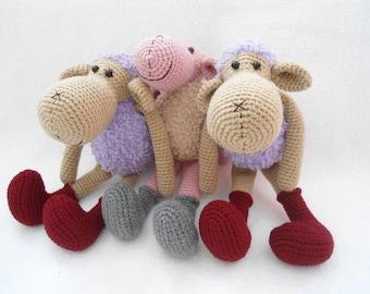 sheep crochet pattern