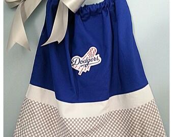 Los Angeles Dodgers Pillowcase dress