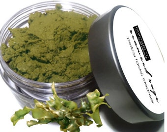 Face Wash Dough Scrub Herbal Seaweed Acne