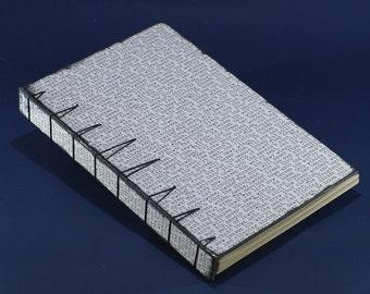 Belgian binding travel journal