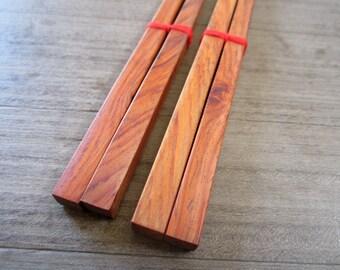 Wooden Chopsticks Unique High Quality 100% Handmade Plain Design