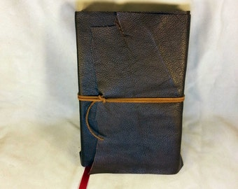 Harry Potter and the Deathly Hallows Recovered Leather Book Hogwarts Voldemort