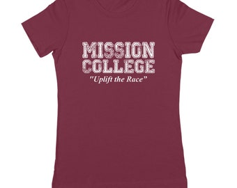 Mission College School Daze Retro 80S Movie Women's Jr Fit T-Shirt DT0600