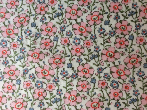Tana lawn fabric from Liberty if London, Josie