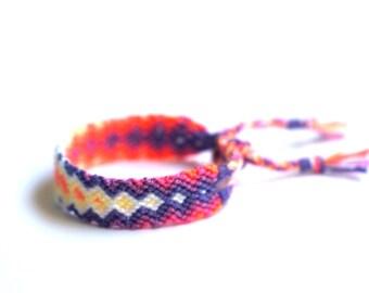 Freindship Bracelet. Pastel Lavender.