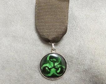 Biohazard Medal/Award/Brooch