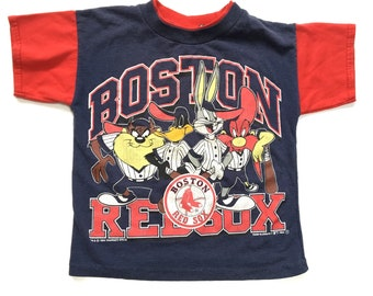 90s Looney Toons Redsox T-shirt