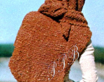 Ladies Knitted Shawl ... Easy Knit Wrap ... PDF Knitting Pattern ... Triangular Stole Pattern ... Large Knitted Shawl ... Digital Download