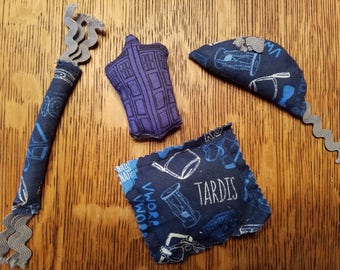 Dr Who Catnip Cat Toys