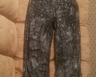 Halter Sequins Jumpsuit