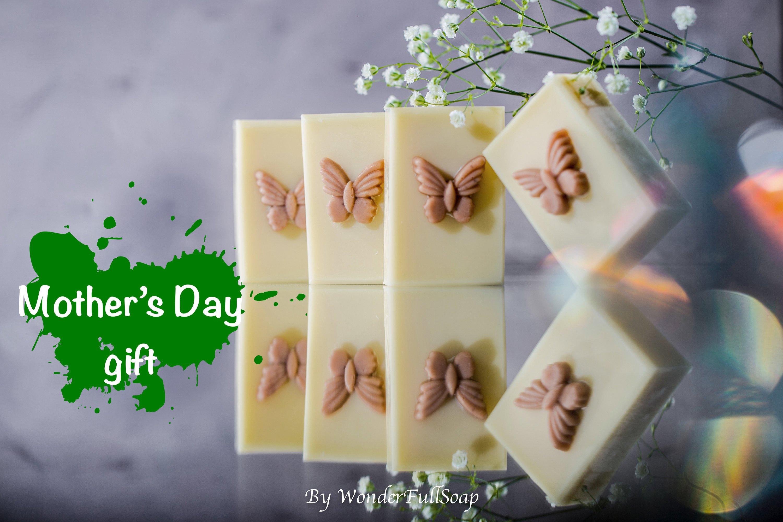 Bath and beauty handmade vegan soap, Baby shower gift.