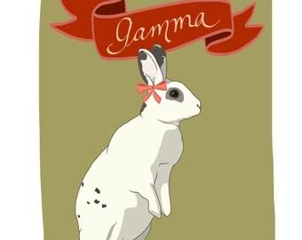 Haustier Porträt Print - eigene Haustier Porträt - perfektes Geschenk für Tierfreunde - Hunde, Welpen, Hasen, Kätzchen, Vögel - eigene Haustier Porträt druckt