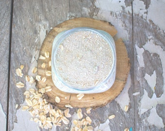 Chamomile Cleansing Grains - Chamomille Facial Cleanser - Oat Face Cleanser - Vegan Face Cleanser  - Natural Facial Cleanser