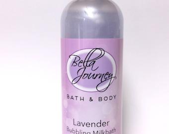 Lavender Bubbling Milk Bath 16 oz.