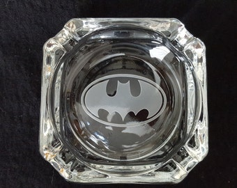 Custom Etched Ashtray,Catchall, Tray, Ring or Jewelry Holder, Choose your own design Sandcarved by JackGlass.etsy.com
