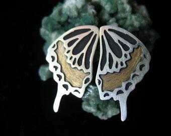 Swallowtail Butterfly Post earrings