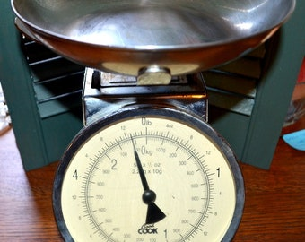 Vintage Good Cook Weight Scale Kitchen Scale Restaurant Food Scale