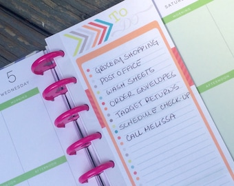Spiral Snaps for Happy Planners, set of 4 - easily add pages to your planner