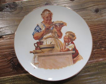 Joseph  C. Leyendecker Mother's Day Plate 1976 First Edition