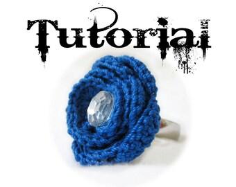 Crochet Rose Ring Photo Tutorial