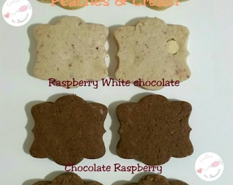 Raspberry White Chocolate cookies