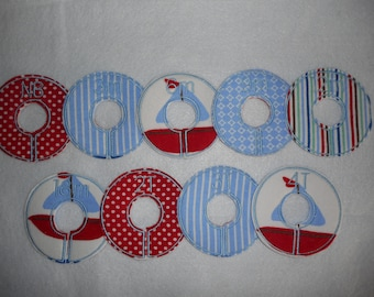 sailboat closet divider set