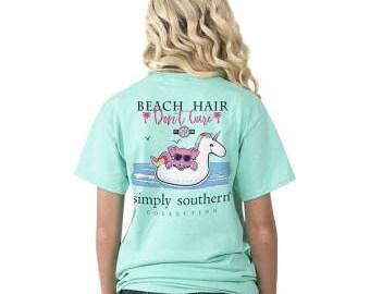 Simply Southern® PREPPYBEACHFLOAT-AQUA