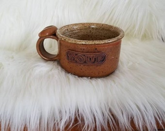 Stone Soup Mug with Thumb Rest