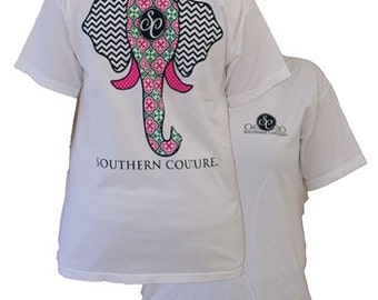 Southern Couture, SC Elegant Elephant, Simply Southern Style Womens