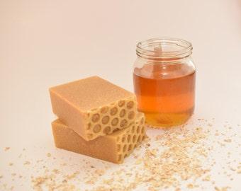 Oat & Honey Natural, Hand Made Soap