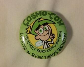 CosmoCon Cosmo Con Cosmo-Con Button!