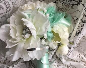 Mint Green Bling