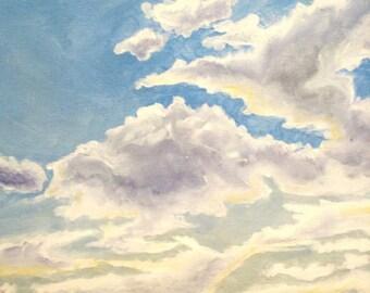 Psalm 108 sky | PRINT