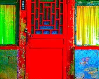 Red Door in Beijing