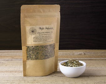 Relaxing Sleepy Time Blend / Anti-Anxiety / Calming / De-Stress Tea / Organic / Loose Leaf
