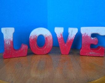 Ceramic LOVE word
