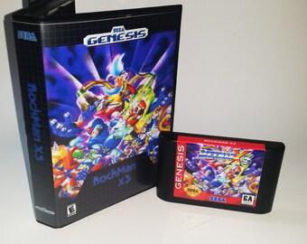 RockMan X3 Sega Genesis Reproduction