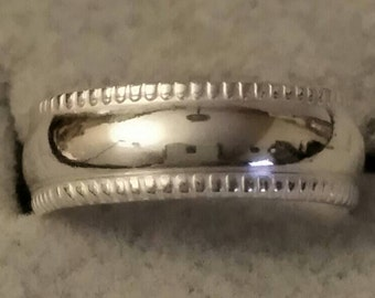 statement ring bands sterling silver fitted toe ring solid band summer beach jewelry WickedWired