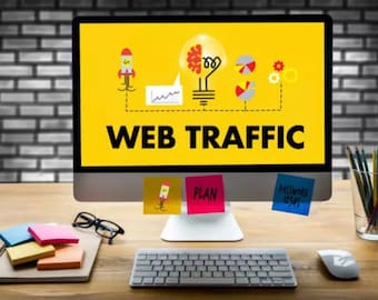 I Will Send Web Traffic To Your Website