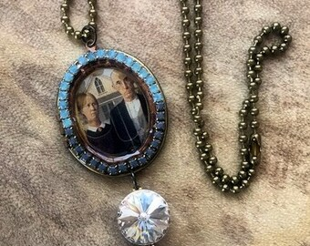 American Gothic Locket Necklace